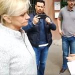 Az utcán vitatkozott a fideszes és az ellenzéki jelölt Óbudán