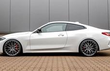 Szolid csinosítást kapott az új 4-es BMW sportkupé