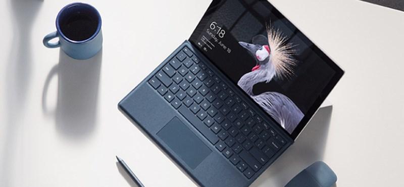 Ezt csak kevesen láthatták: így jelentette be a Microsoft az új Surface Prót