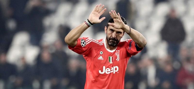 Gianluigi Buffon már csak egyetlen alkalommal játszik a Juventusban