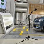 UFO-hangot kapott a Skoda hibrid autója