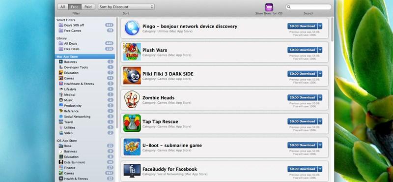Store News: így juthatunk ingyen vagy olcsón iPhone, iPad és Mac programokhoz