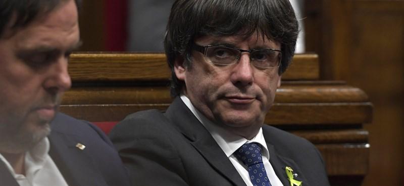 Világ: A katalán elnök mást is el tud képzelni, mint az elszakadás