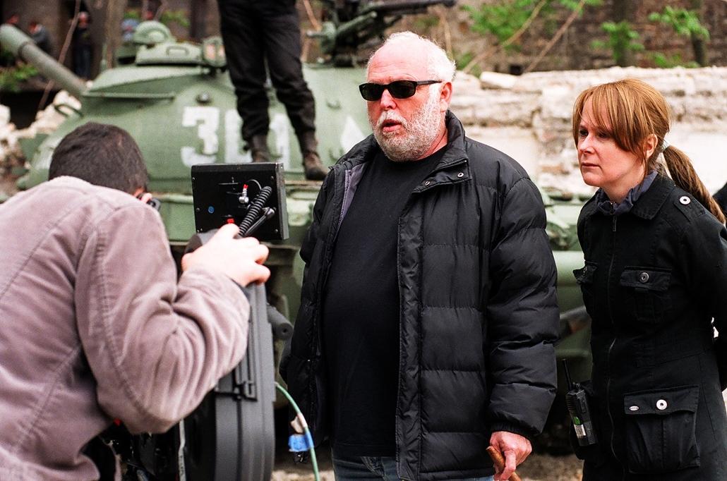 NE HASZNÁLD!!! 2005 Andy Vajna és Goda Krisztina a Szabadság szerelem film forgatásán