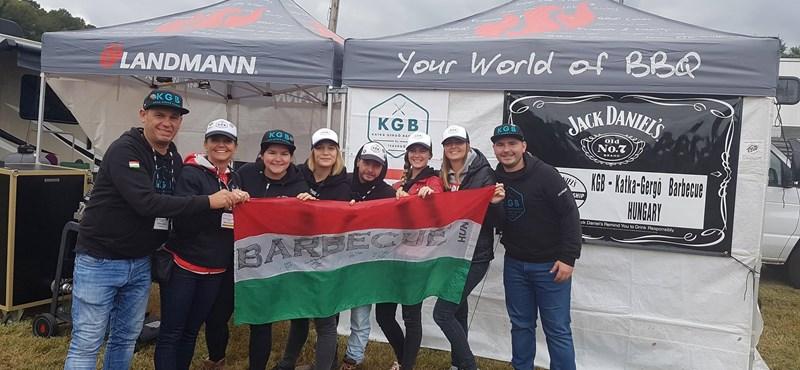 Magyar csapat is szerepelt a BBQ-világbajnokságon