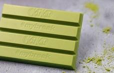 Európába jön a zöld Kit Kat