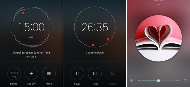 Képeken az új felület: így néznek majd ki a Huawei mobiljai