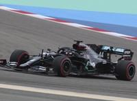 Pályacsúccsal nyerte az időmérőt Hamilton a Bahreini Nagydíjon
