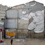Káprázatos street art mozgásban (videó)