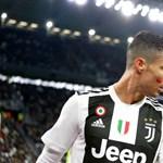 Vörös folttal az arcán üzent Ronaldo és Mandzukic