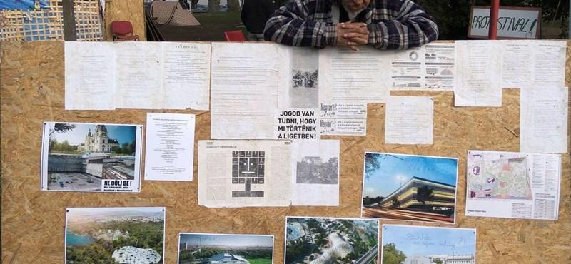 Egy a Liget, több a tábor: egymással is dacolnak az aktivisták