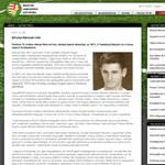 Meghalt Menczel Iván olimpiai bajnok labdarúgó