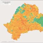 Elkészült az Erdély-térkép, amely településenként mutatja a magyarok arányát