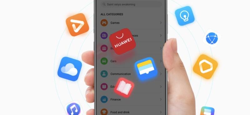 Cseppet sem zavarja a Huaweit, hogy nincs Play áruház a telefonjain