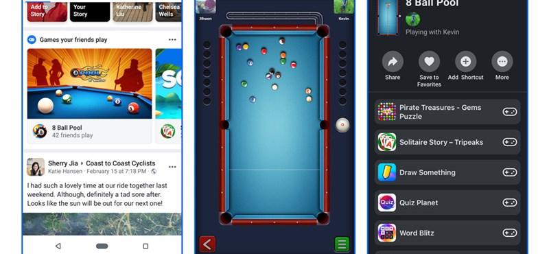 Kikerülnek a Messengerből a játékok