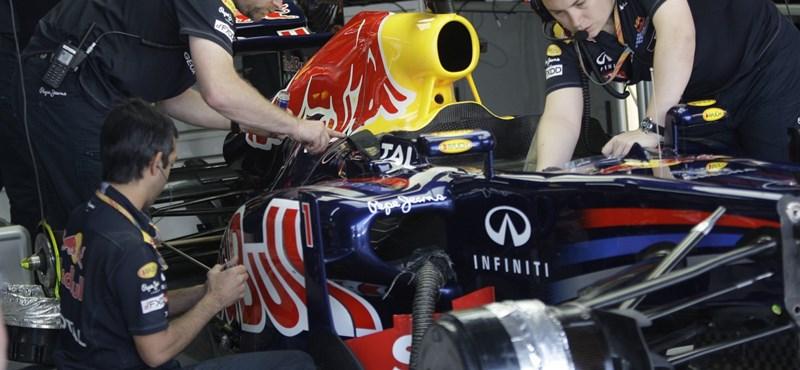 Forma-1: új fejlesztés a Red Bullnál a diffúzor pótlására