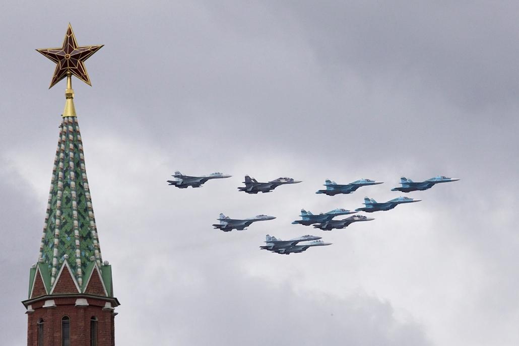 AP_! - máj.19-ig_! - Győzelem napi ünnepségek Oroszországban