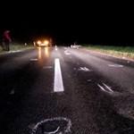 Fotók: Halálos motorbaleset történt Algyőnél