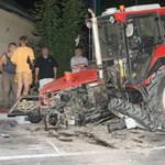 Újra járható a traktorbaleset miatt lezárt 43-as út
