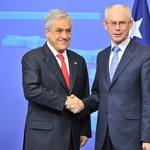 A chilei demokráciát dicsérte az Európai Tanács elnöke