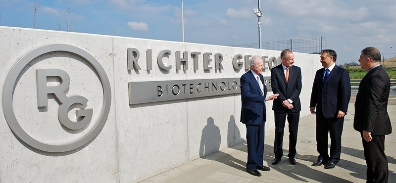 Kiradírozta itthon a Trump-effektust a Richter nagy esése
