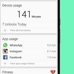 Túl sokat használja a mobilját? Keveset alszik? Ez az app élete minden statisztikáját mutatja