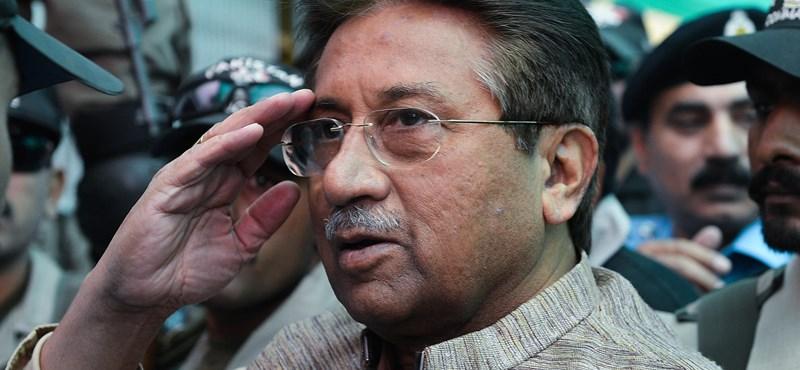 Halálra ítélték Pervez Musarraf volt pakisztáni elnököt