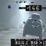 300 ezres büntetést kapott a szolnoki BMW-s, aki 50 helyett 146-tal száguldozott
