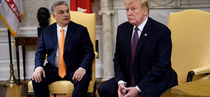 Itt a Fehér Ház videója a hétfői Orbán–Trump-találkozóról