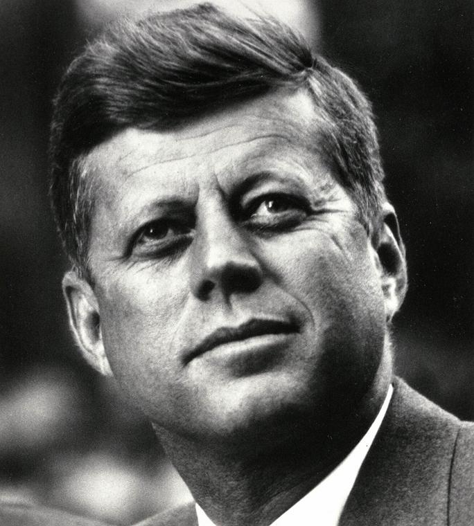 1963.01.01. - Washington, USA: portré az elnökről - - John F. Kennedy, John Fitzgerald Kennedy