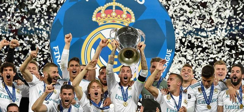 Real Madrid-Liverpool 3-1 - egy csodagól és két potya döntött a BL-trófeáról