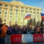 Ostromhelyzet az elszakadni akaró ukrán városban