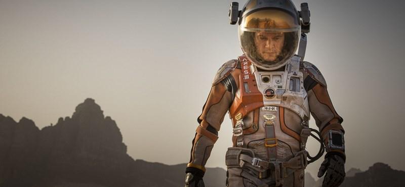 Lehet, hogy jégkunyhóban kell majd élni a Marson – fotó