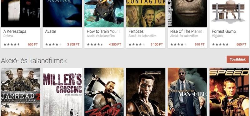 Több ezer filmet nézhet akár netkapcsolat nélkül – itthon is elindult a Google szolgáltatása