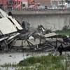 Egy olasz miniszter már megtalálta a genovai hídomlás felelősét