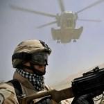Lezuhant egy NATO-helikopter Afganisztánban