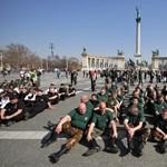 Kezdődik a gárdaavatás: a rendőrség beavatkozásra készül