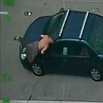 Fegyveresek okoztak sokkoló meglepetést egy autópályán – videó