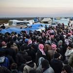 Szíria: humanitárius katasztrófa előtt a török határnál