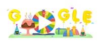 google születésnapi képek Tech: Mi történik, ha megforgatja? Itt a Google születésnapi  google születésnapi képek