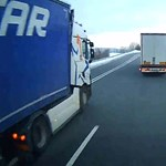 Letöltendő börtönt kapott egy kamionos egy életveszélyes előzésért - videó