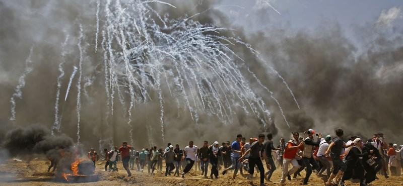 Fokozódik a harc a Gázai övezet és Izrael között