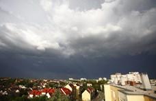 Viharokkal tör be este a hidegfront