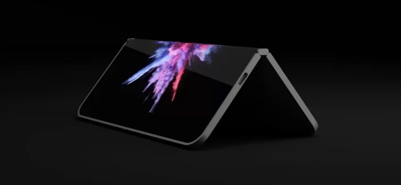 Összehajtható windowsos okostelefonok jöhetnek
