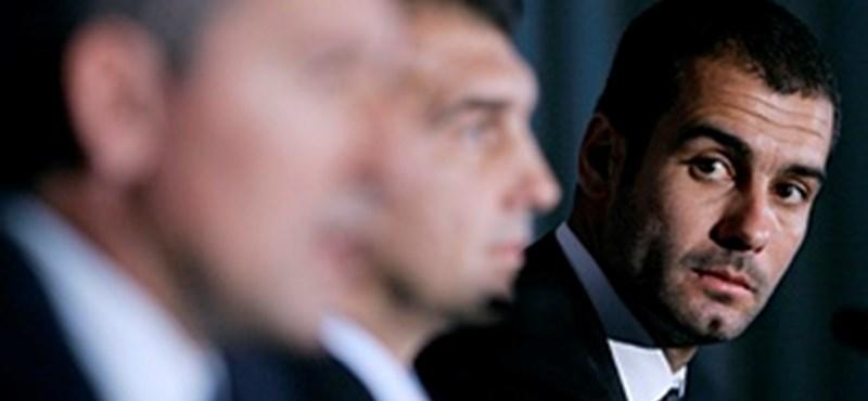Guardiola addig marad a Barcelona élén, ameddig akar