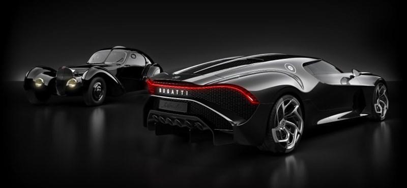 Bemutatta a Bugatti a világ legdrágább új autóját