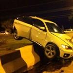 Csúnyán végezte egy X6-os BMW Brazíliában – fotó