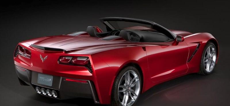 Itt a kabrió Corvette Stingray is