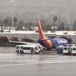Túlfutásos baleset történt egy kaliforniai reptéren, de a védelmi rendszer tette a dolgát - videó