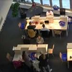 Remek videót készített a pécsi egyetemi könyvtár: ilyen a vizsgaidőszak
